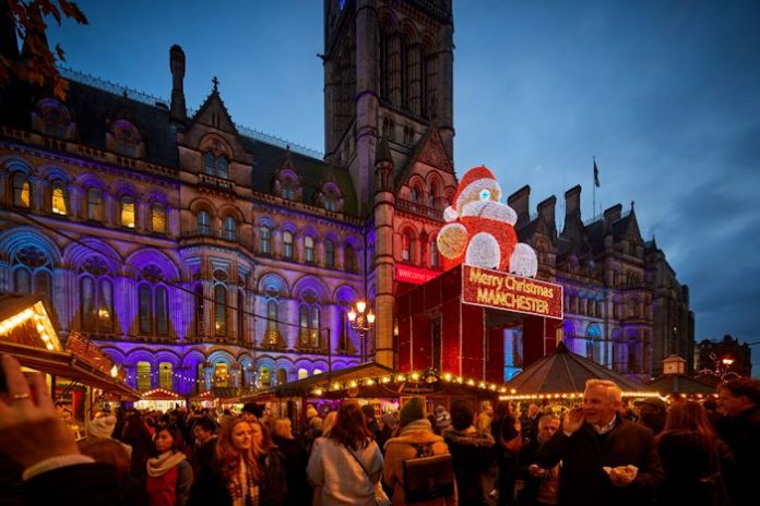 Manchester Lights up for Xmas
